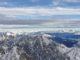 Bergpanorama auf der Zugspitze